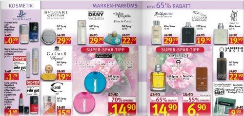 Angebot für Körper-, Zahn-, Haar-, Sonnenpflege sowie Haushaltprodukt@Rossmann