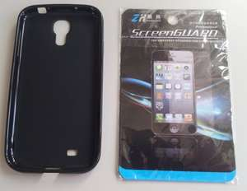 Samsung Galaxy S4 TPU Hülle + Displayschutzfolie @Amazon 0,99€