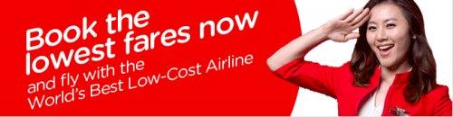 AirAsia vergibt 12.000 Tickets für nur 9$