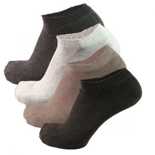 (Ebay)-12 Paar Sneaker Socken Füsslinge Sneakers Baumwolle Gr 39-42 G u.Gr. 43-46