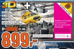 """Saturn Tübingen: Samsung PS50C6970 (50"""" 3D-Plasma, Triple-Tuner, USB-Rec) für 899€ / Canon Eos 1000d Doppel-Kit für 399€ und andere gute Preise!"""