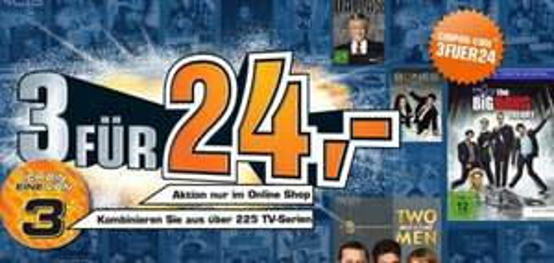 3 Serien für 24 Euro bei Saturn und Amazon