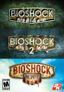 Bioshock Triple Pack[Steam] für 26€ @Amazon.com