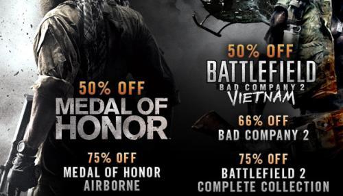 Medal of Honor und Battlefield Day bei Steam