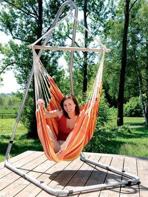 """Amazonas """"relax sunrise"""" Hängesessel orange für 19,99 @ ZACKZACK"""