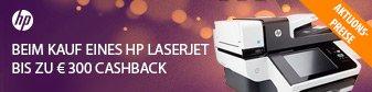 HP LaserJet Pro 200 M251w für 174,89durch HP LaserJet Cash-Back Promotion (cashback von 30€ bis 300€ Modelabhängig.)