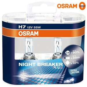[Amazon] OSRAM  H7 NIGHT BREAKER® PLUS 2er-Box (64210NBP)