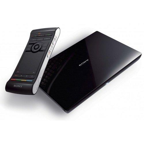 Sony NSZ-GS7 Internet Player mit Google TV (Google Chrome, Google Play, Bluetooth, USB, doppelseitige Universalfernbedienung) schwarz
