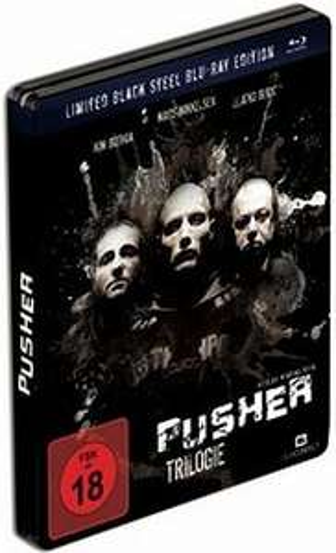 Pusher Trilogie - Limited Black Steel Book Edition [Blu-Ray] bei CeDe.de