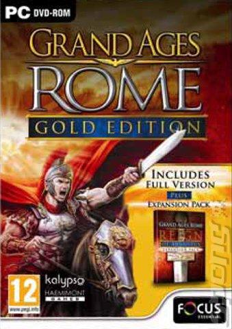 Grand Ages: Rome Gold Edition (PC) für 4,49€ - nur heute