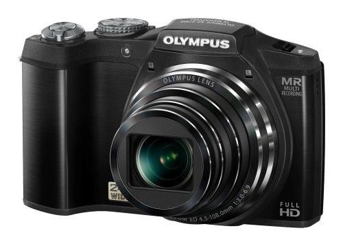 Olympus SZ-31MR Digitalkamera (16 Megapixel, 24-fach opt. Zoom, 7,6 cm (3 Zoll) Display, 3D Fotos , Duale Bildstabilisierung ) schwarz für 140€ @Amazon.co.uk