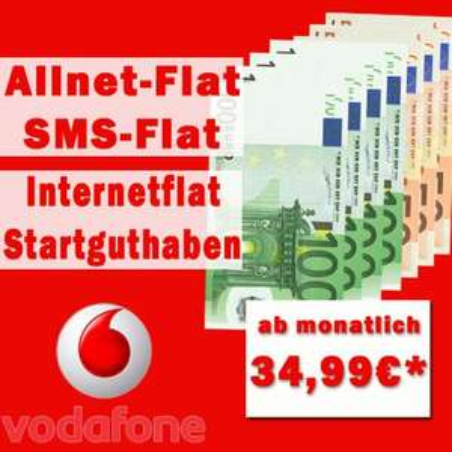 [Sim-only] Allnet- + SMS- + Internet-Flat (1000 MB) - Red M - ab € 12,87 / Monat