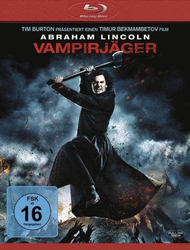 Abraham Lincoln - Vampirjäger (BluRay) - 8,99 € (Amazon.de)