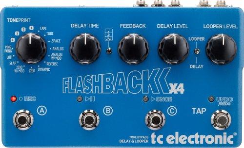TC Electronic Flashback X4 kaufen und PolyTune® Noir kostenlos bekommen