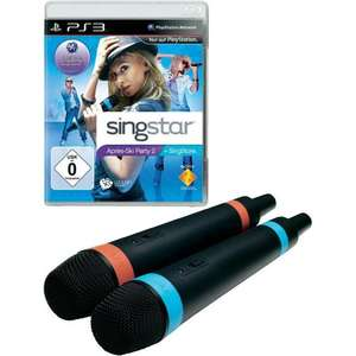 [Conrad] PS3 SingStar – Apres Ski Party 2 inkl. 2 kabellosen Mikrofonen für 19,95 €, Versandkostenfrei mit PayPal und Sofortüberweisung