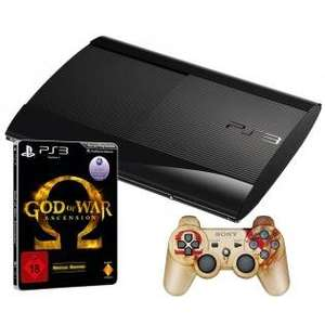 Sony Playstation 3 500 GB + God of War Ascension inkl 2 Controller