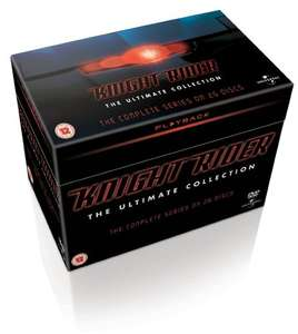 Knight Rider - The Complete Box Set (Englisch) [26 DVDs] für 34€ @Amazon.co.uk