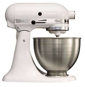 KitchenAid 5K45SSEWH Classic Weiss für 343€ @Amazon.co.uk