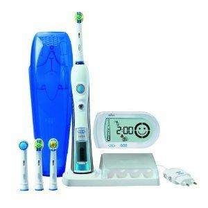 Braun Oral-B Triumph 5000 Elektrische Premium-Zahnbürste mit Smart Guide