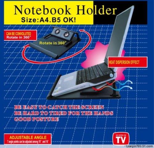 Verstellbarer Laptophalter mit Kühlfunktion für 7,98€