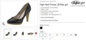 [Neukunde] Buffalo Girl High Heel Pumps mit Payback & NL GS für 22€ statt ca. 41€