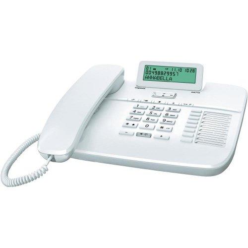 Gigaset DA710 schnurgebundenes analoges Telefon (Weiß) 24€