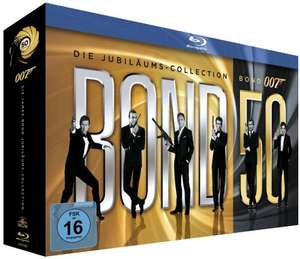 Jahresabo Cinema plus James Bond BluRay Box