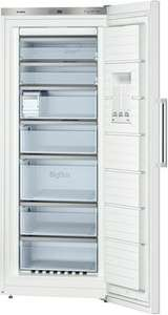 Bosch GSN54AW40  Gefrierschrank A+++ Gefrieren: 323 L / Weiß / NoFrost / digitale Temperaturanzeige für 699€ @ ZackZack