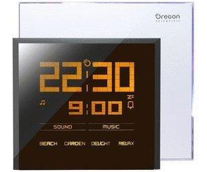 Oregon Scientific RM901 Funkuhr mit Regenbogen-Lichteffekten, natürlichen Wecktönen und Audioanschluss für 35,90€ @ IBood
