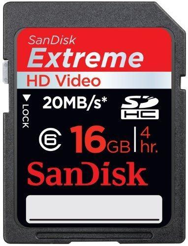 Sandisk (SDHC) Extreme Video HD 16GB