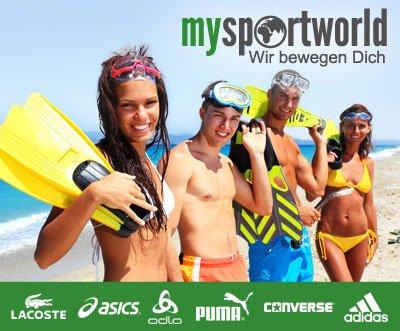 Bei mysportworld.de für 70€ einkaufen zum Preis von 40€ @DailyDeal