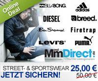 [Dailydeal] M&M Direct - 50€-Gutschein für 25€