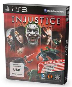 Injustice Red Edition - PS3
