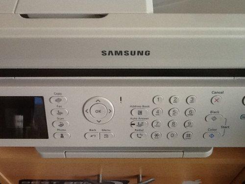 Samsung Drucker scanner Kopierer.....Fax......