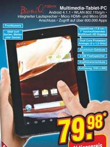 7 Zoll Tablet mit Android 4.1.1 bei Netto