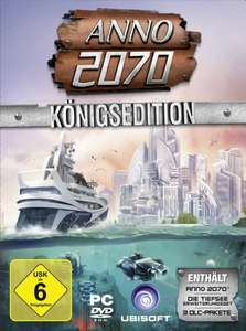 ANNO 2070 - Königsedition für 30,97€ @amazon DVD-Version