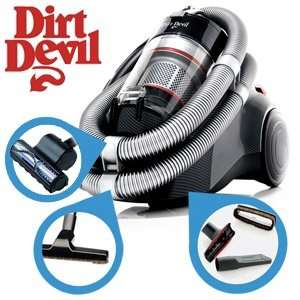 Dirt Devil Staubsauger, M 5038 Infinity VS, Carbon Look, für 88,90 Euro auf ibood.de