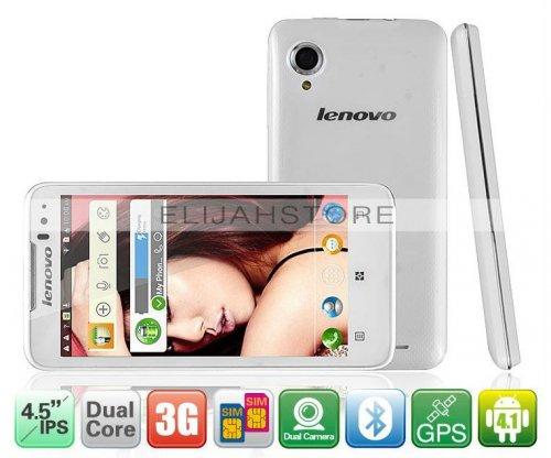 """Lenovo IdeaPhone P770 Dual-SIM Akku 3500mAh 4.5"""" Android 4.1 3G nur für 119,98Euro + 9,23Euro Versand"""