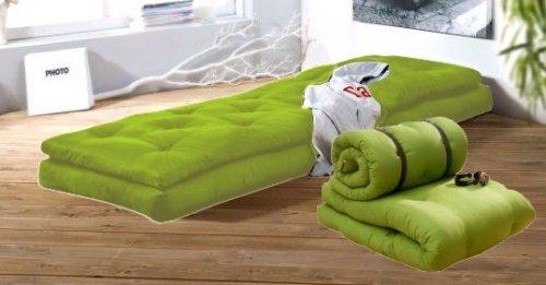 Buckle Up Design Matratze Gästebett Relaxsessel 2 Futonmatratzen grün UVP: 529,-