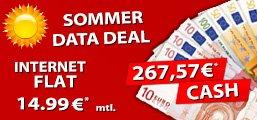 Vodafone Datenflat Junge Leute für rechnerisch 3,84!!!