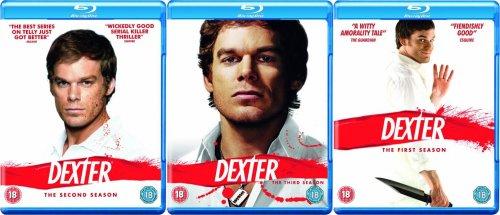 Blu-ray Box - Dexter (Season 1,2,3 auf jeweils 3 Discs) ab je €17,26 [@Zavvi.com]