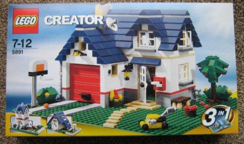 Real-Prospekt: LEGO Creator Haus mit Garage: 29,95 (idealo 39,88)