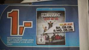 "Scorpions: Live In 3D - ""Get Your Sting & Blackout 2011"" Bluray für 1€ [LOKAL 53879 Saturn]"