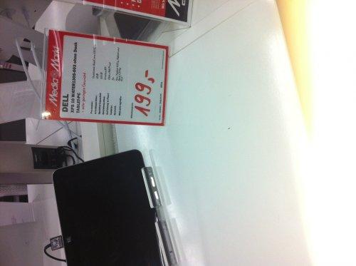 LOKAL: Windows RT Tablet Dell XPS 10 199 EUR - MM Berlin Borsighallen