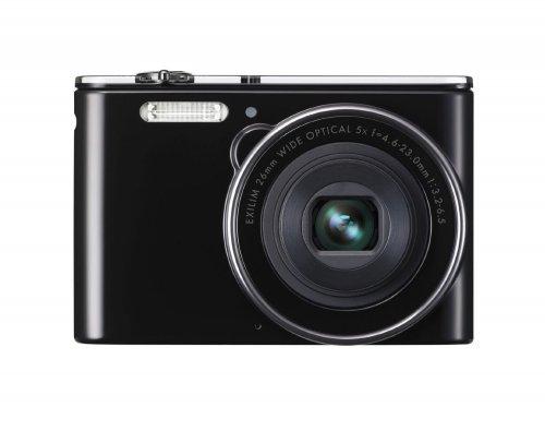 Casio Exilim EX-JE10 Digitalkamera (16,1 Megapixel, 6,9 cm (2,7 Zoll) Display, 5-fach opt. Zoom, HD-Videoaufnahme, 26mm Weitwinkeloptik) schwarz[REAL] offline