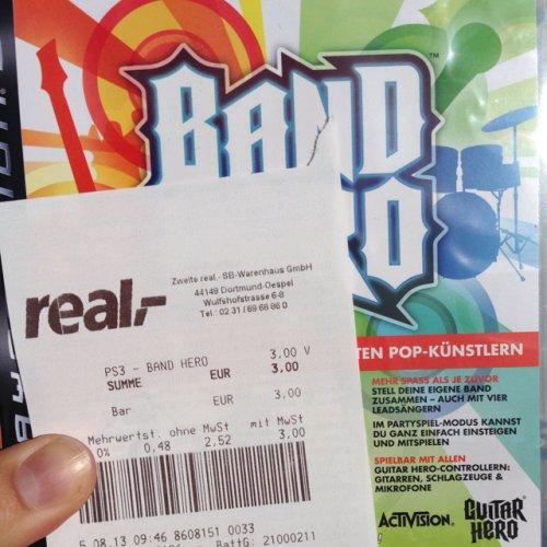 [lokal Real Do-Öspel] Band Hero PS3