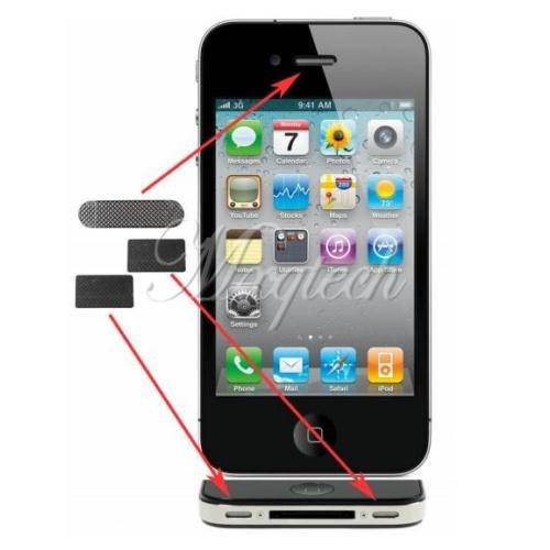 Netz Set Lautsprecher Hörmuschel Mikro für iPhone 4 4G 4S inkl Versand 1€  ebay