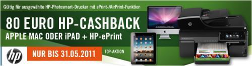 einen HP OfficeJet 4500 g Drucker für lau & beim Mac oder iPad zusätzlich 15 Euro Rabatt by Cyberport
