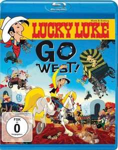 Lucky Luke, Go West! [Blu-ray] für ohne Vsk 5,97 € [Amazon.de]
