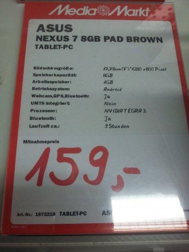 [LOKAL] MM Mülheim a.d. Ruhr - ASUS Google Nexus 7 8GB
